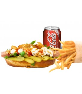 Promo Hot dog Frankfurt con iceberg