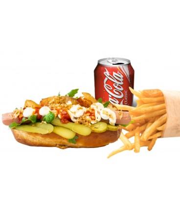 Promo Hot dog Frankfurt con iceberg
