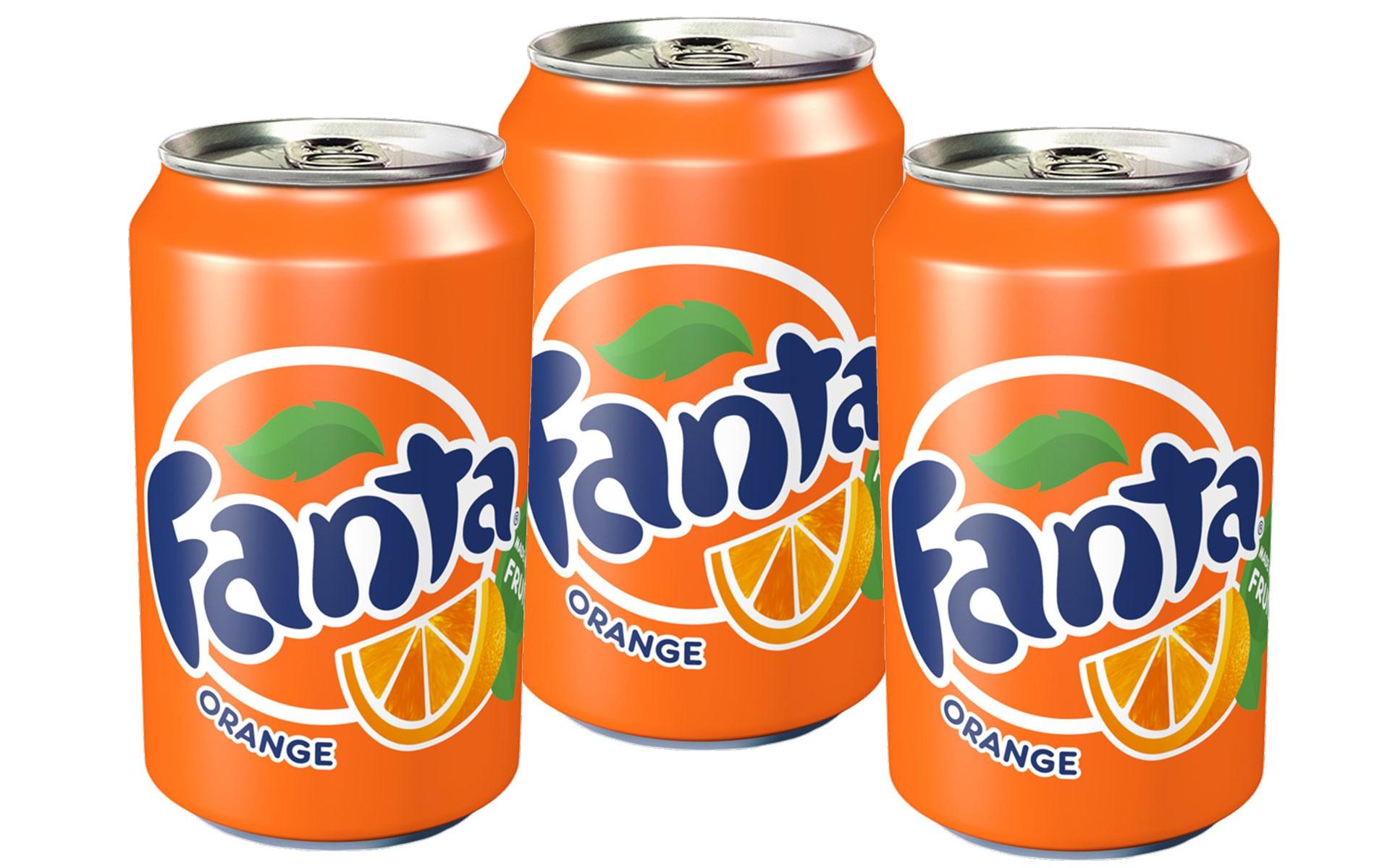 Fanta naranja 33 cl x3
