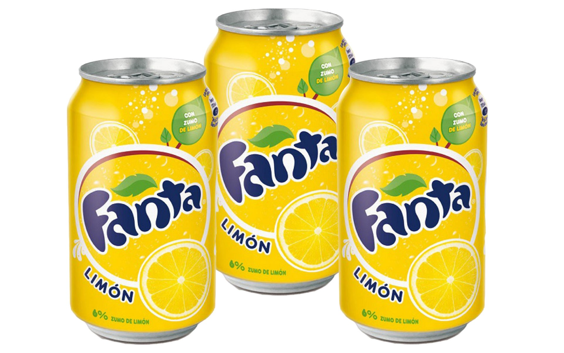 Fanta limon 33 cl x3