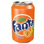 Fanta naranja 33 cl