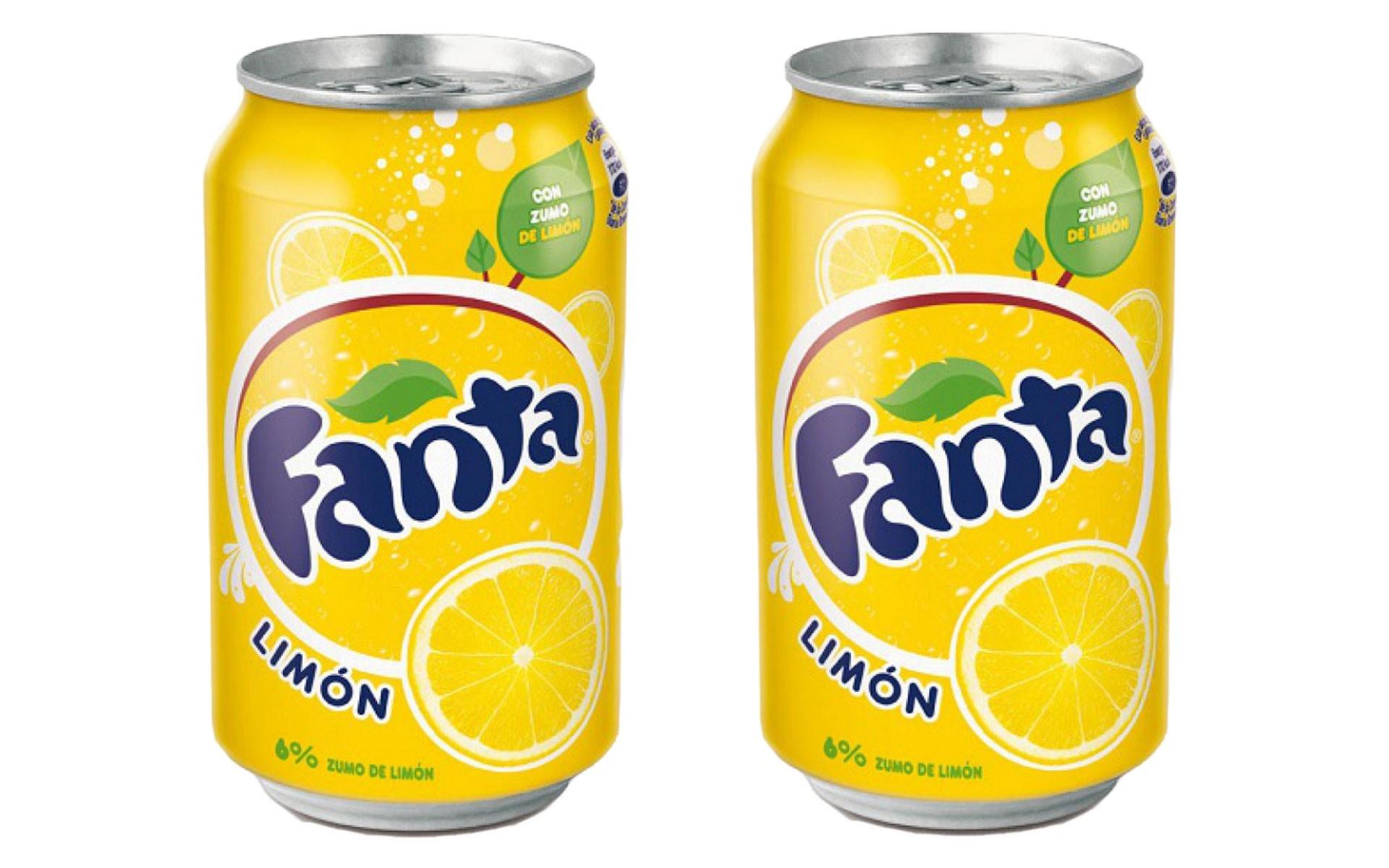 Fanta limon 33 cl x2