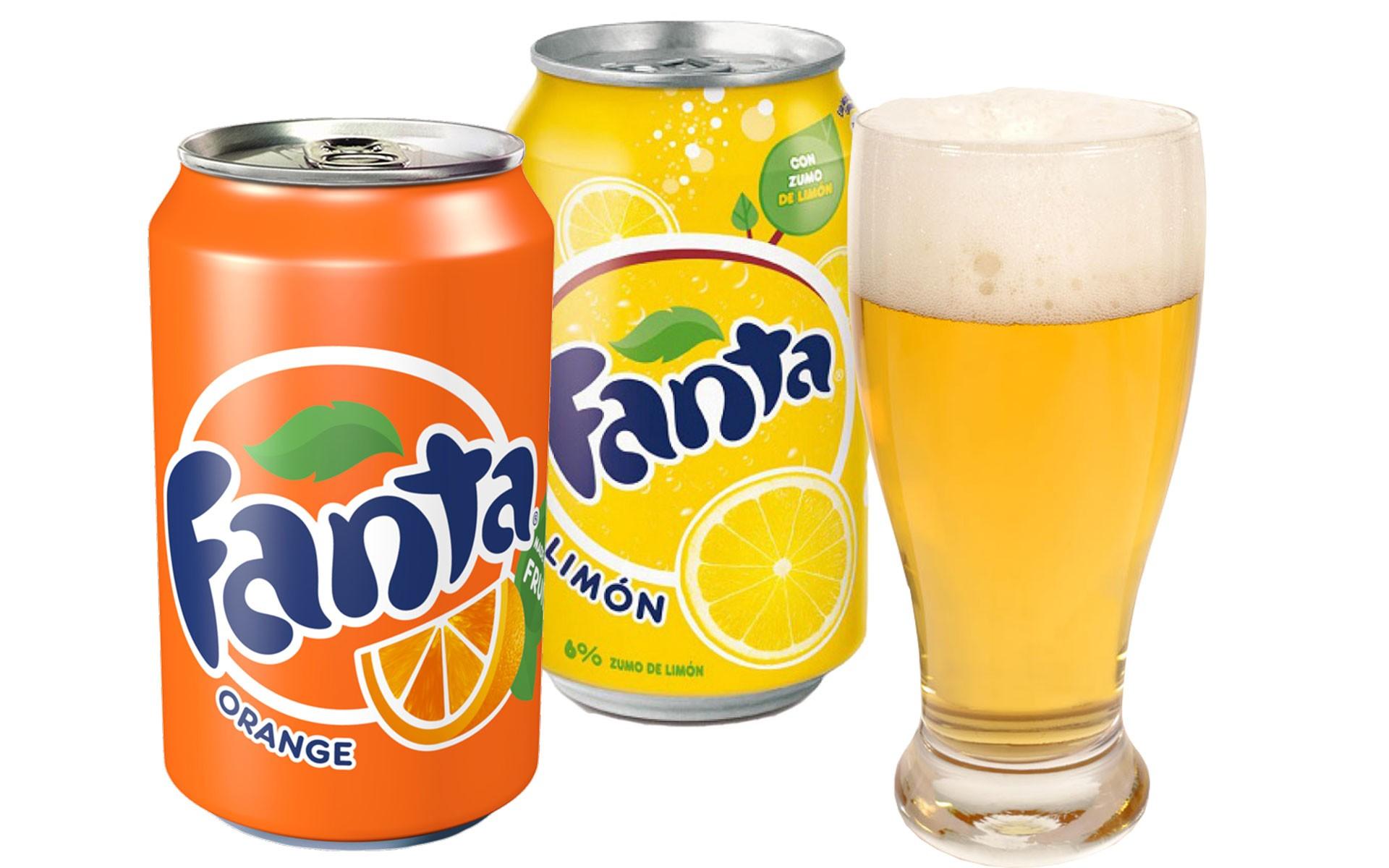 Fanta L - Fanta O - Cerveza