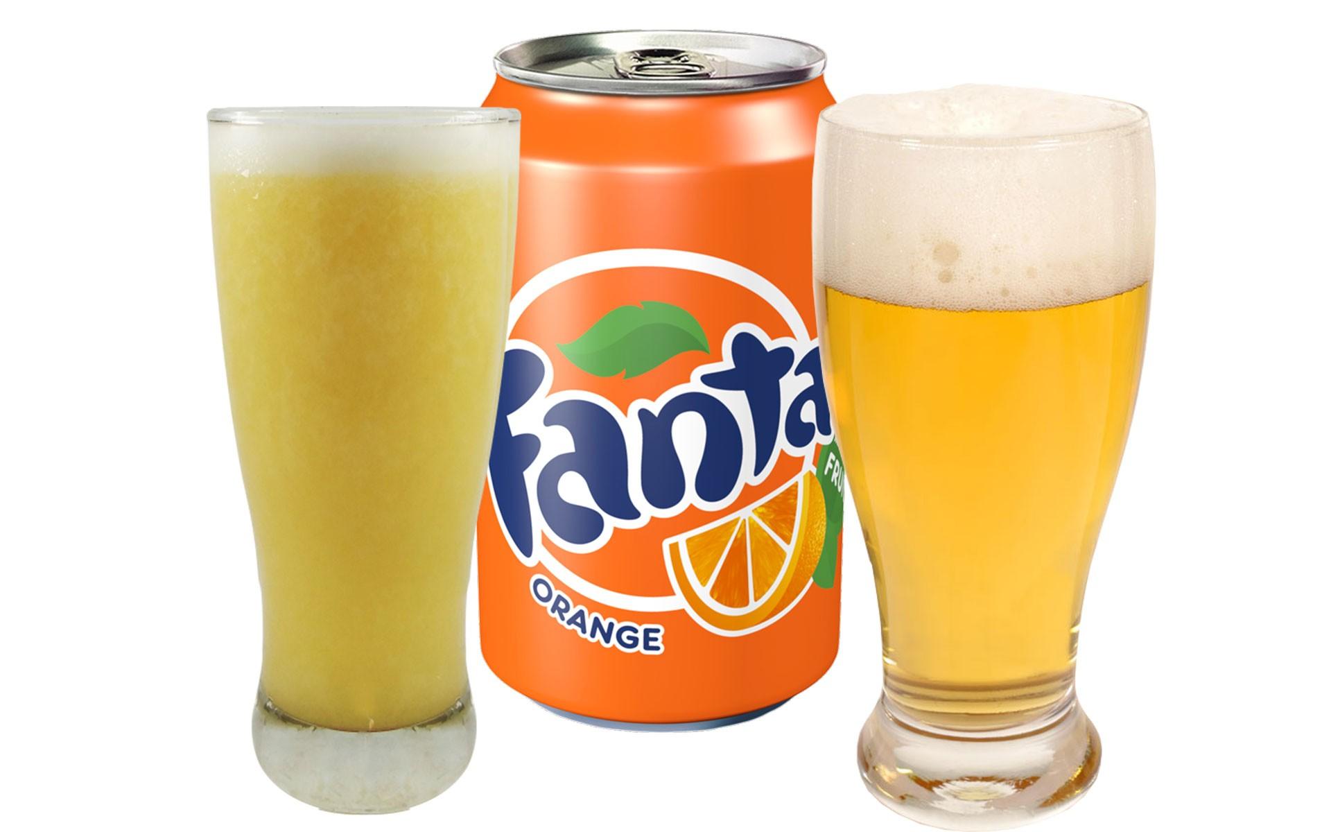 Fanta O - Zumo - Cerveza